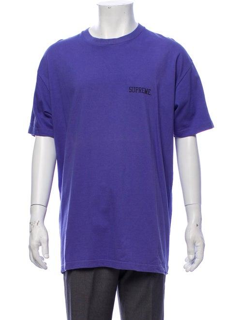 Supreme E.t. Graphic Tee purple