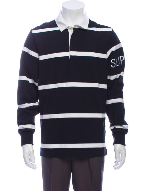 Supreme 2016 Rugby Polo Shirt Black