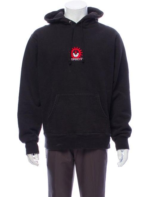 Supreme 2018 Vampire Hooded Sweatshirt Hoodie Blac