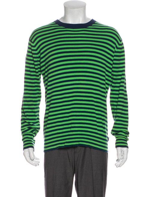 Supreme Knit Striped Pullover Blue