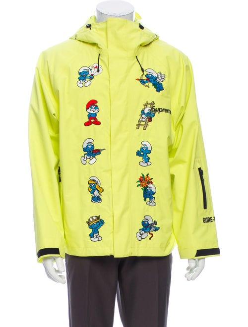 Supreme 2020 Smurfs Gore-Tex Bomber Jacket Yellow