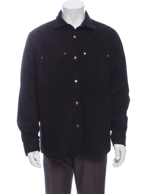 Supreme Long Sleeve Denim Shirt Denim