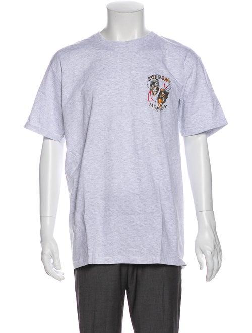 Supreme 2020 Laugh Now T-Shirt w/ Tags Grey