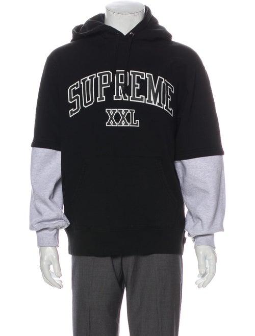 Supreme 2020 XXL Hoodie Black