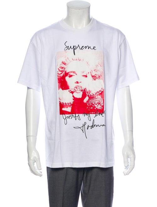 Supreme 2018 Madonna T-Shirt White - image 1
