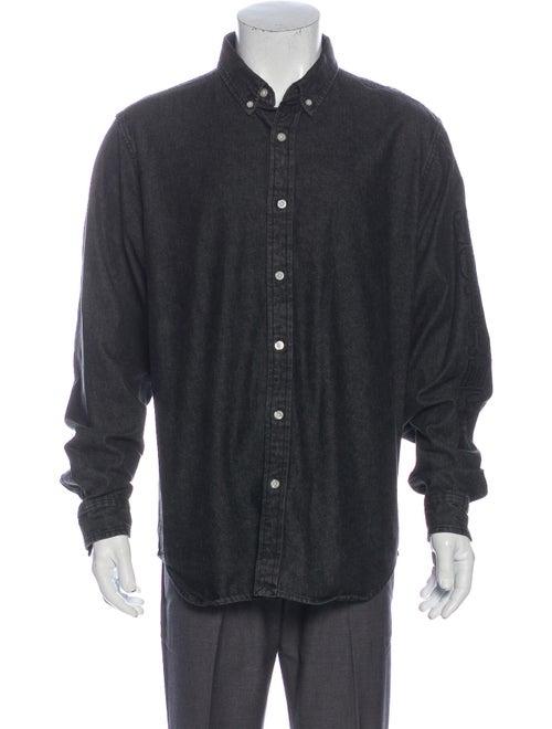 Supreme 2018 Long Sleeve Denim Shirt Denim