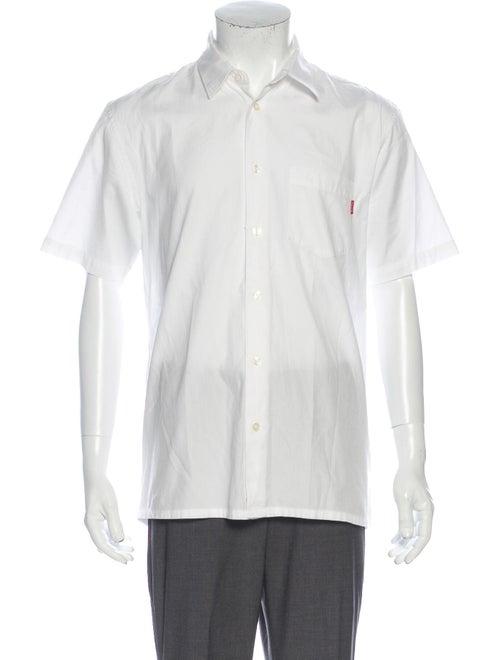 Supreme S/S Oxford Short Sleeve Shirt White