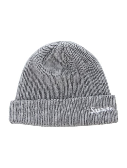 Supreme Supreme Loose Gauge Beanie grey