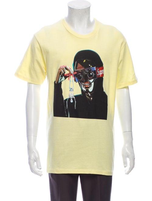 Supreme 2019 Creeper T-Shirt T-Shirt Yellow