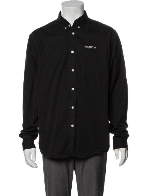 Supreme 2018 Signature Logo Shirt Black
