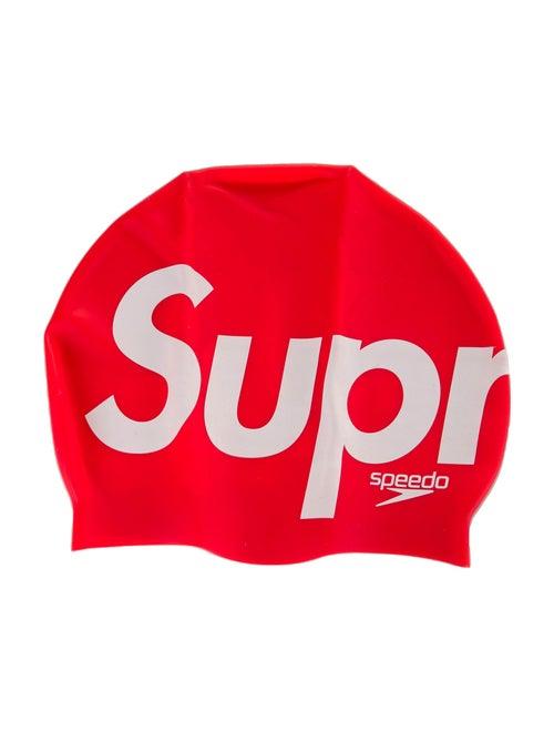 Supreme x Speedo 2020 Swim Cap red