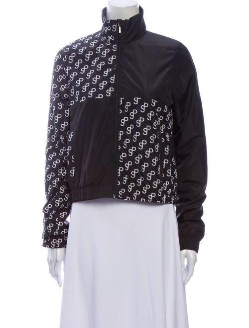 Saks Potts Printed Jacket Black