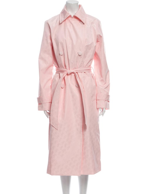 Saks Potts Trench Coat w/ Tags Pink