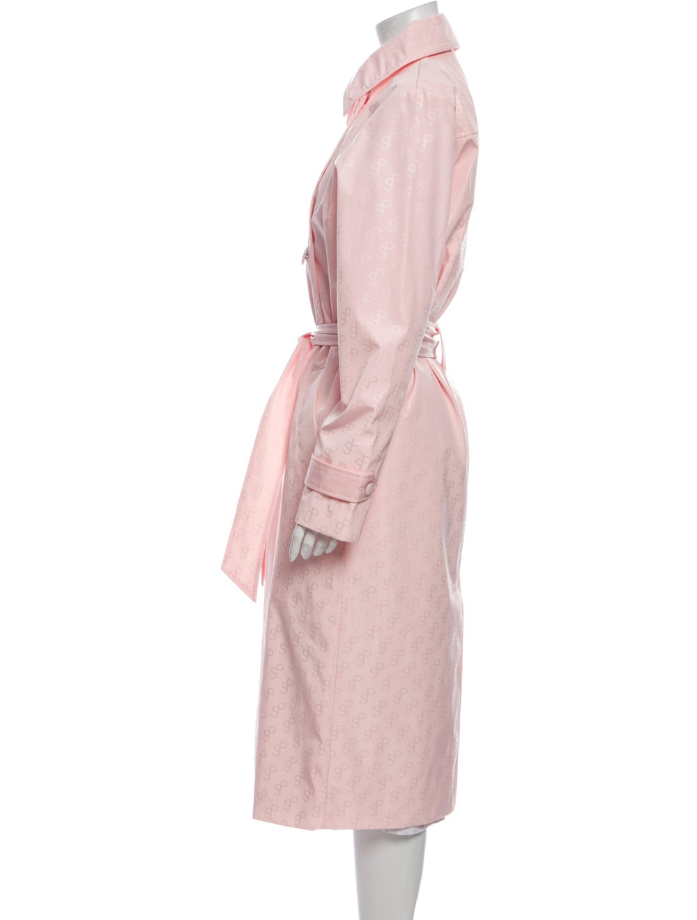 Saks Potts Trench Coat w/ Tags Pink - image 2