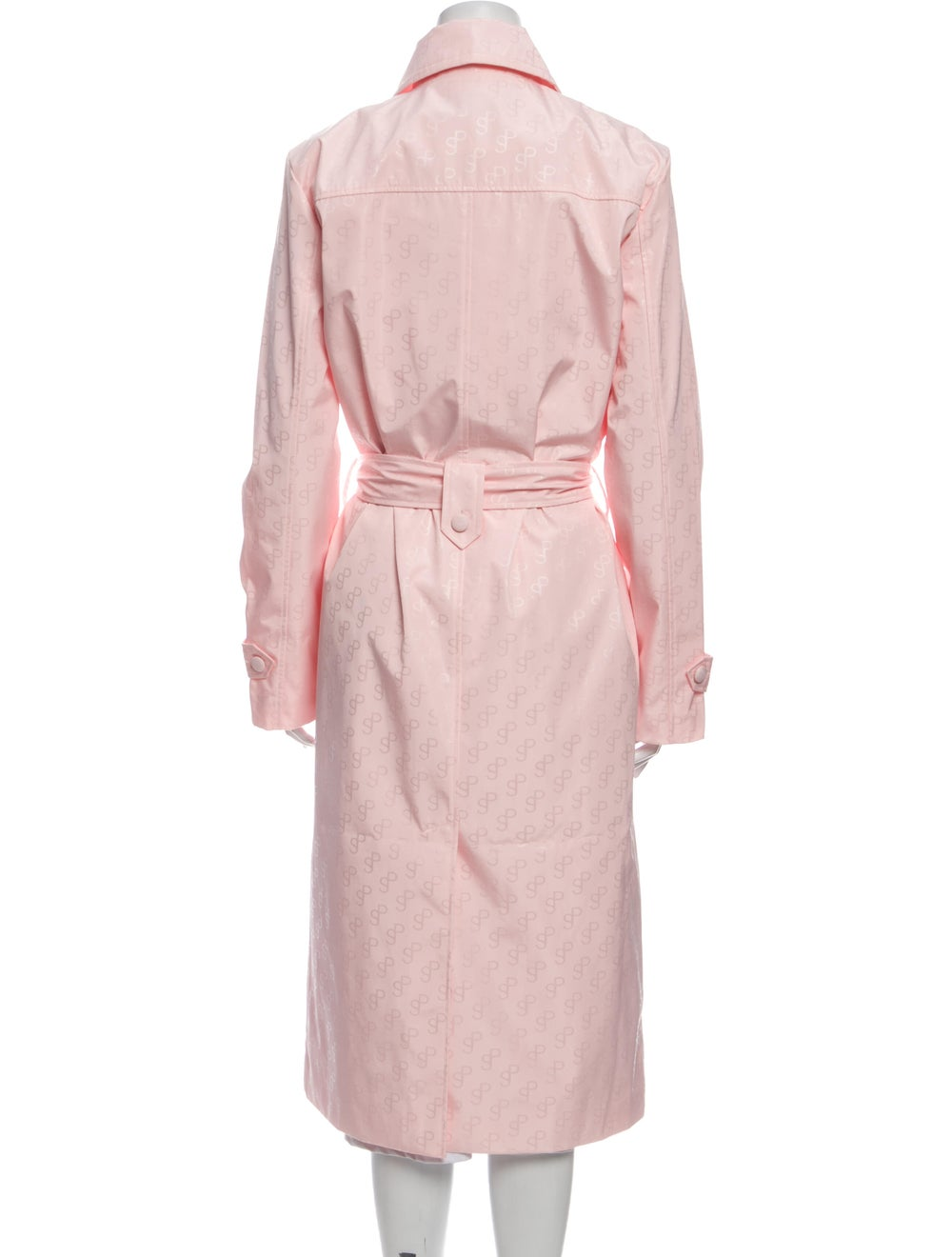 Saks Potts Trench Coat w/ Tags Pink - image 3