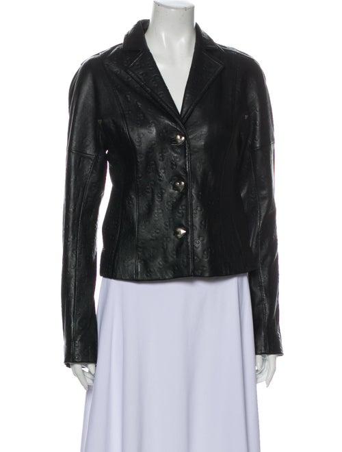 Saks Potts Lamb Leather Jacket w/ Tags Black