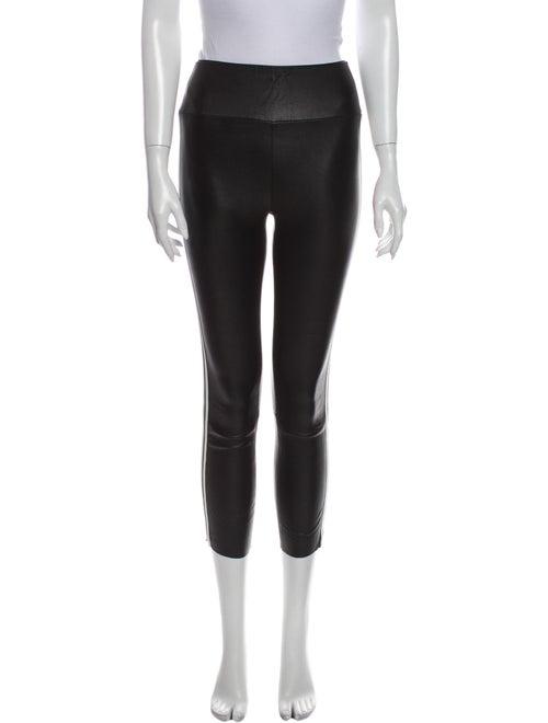 Sprwmn Leather Skinny Leg Pants Black