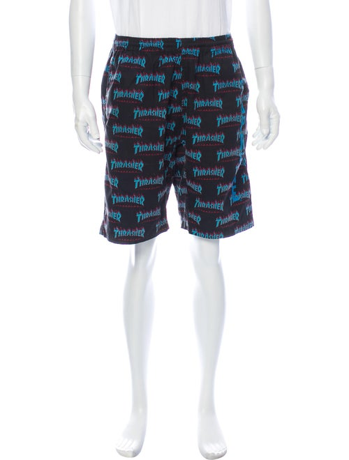 Supreme x Thrasher 2015 Shorts Black