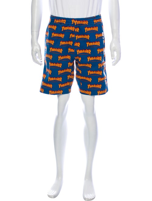 Supreme x Thrasher 2015 Shorts Blue