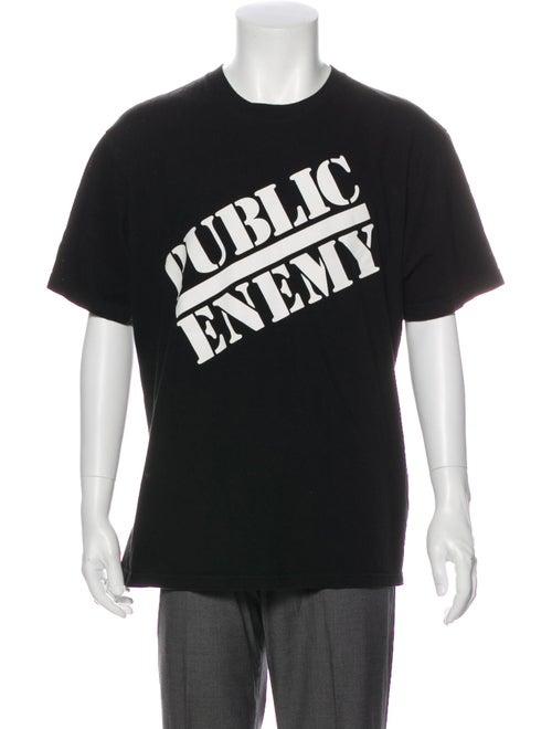 Supreme x Undercover 2018 Public Enemy T-Shirt Bla