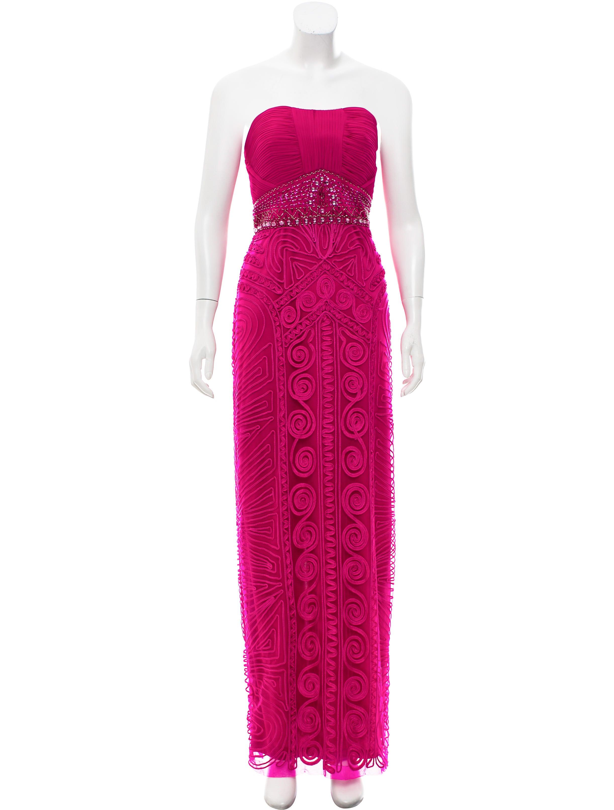 Sue Wong Embellished Evening Dress - Clothing - WSQ20179   The RealReal