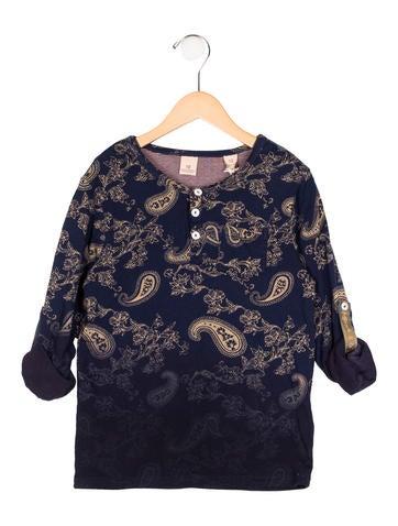 Scotch Shrunk Girls' Printed Knit Top w/ Tags None
