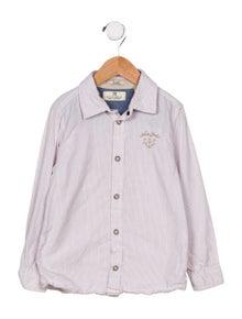 Scotch Shrunk Boys' Collared Button Up Shirt
