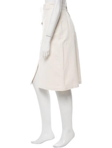 sea knee length corduroy skirt w tags clothing