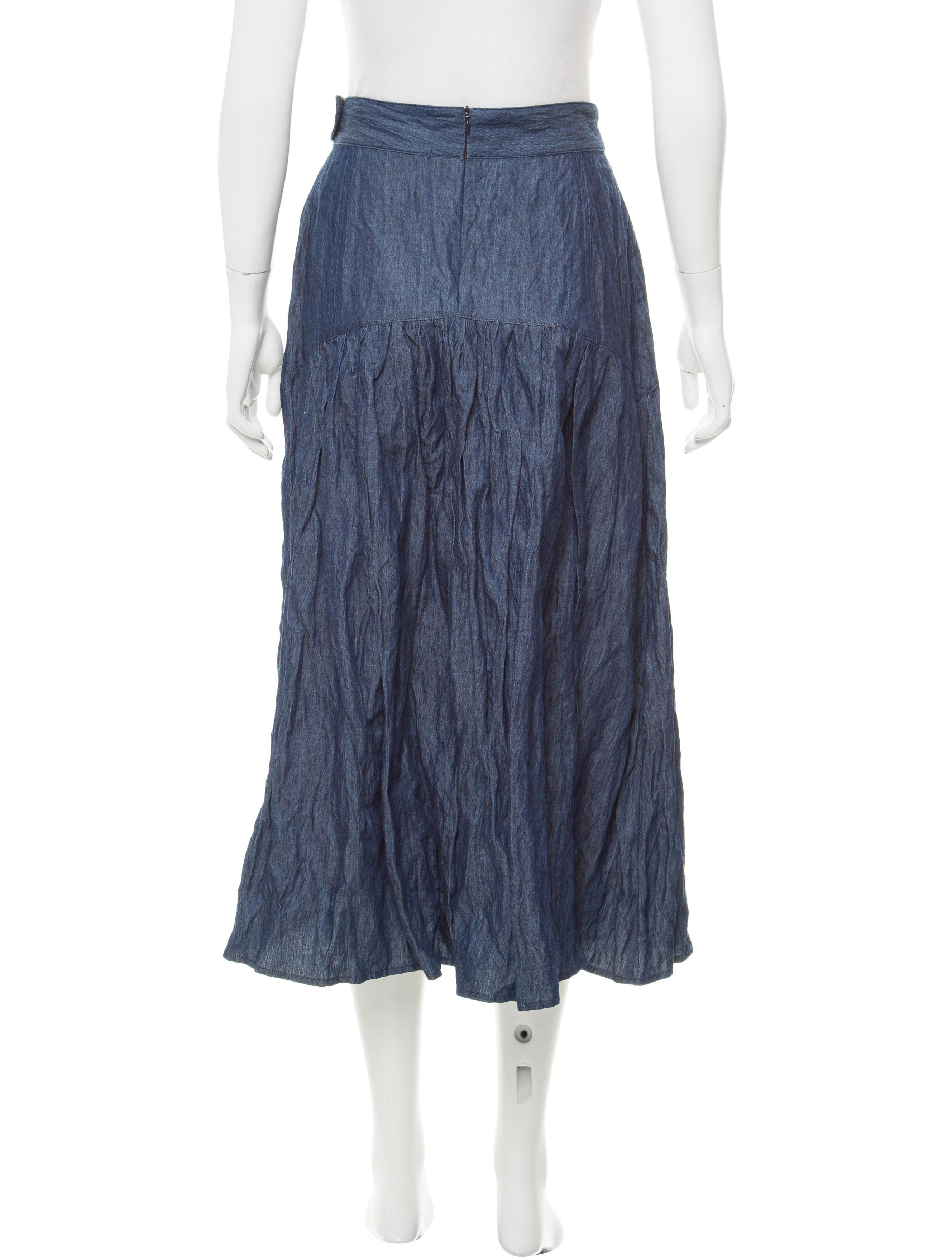 Clothing Denim Skirt 10