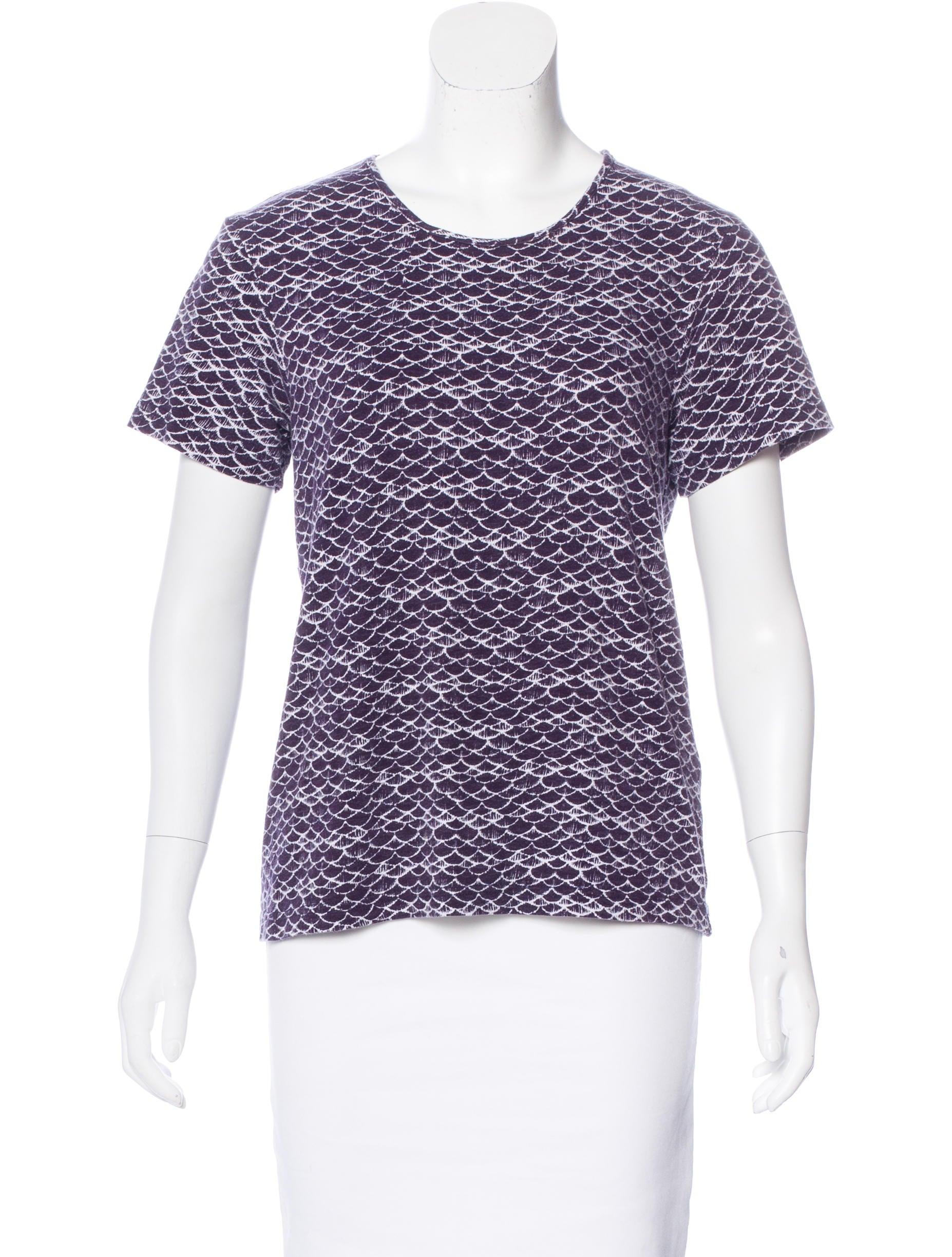 Sea Printed Short Sleeve T Shirt Clothing Wssea23267