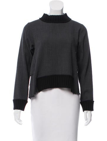 Sea Wool Tiered Top None