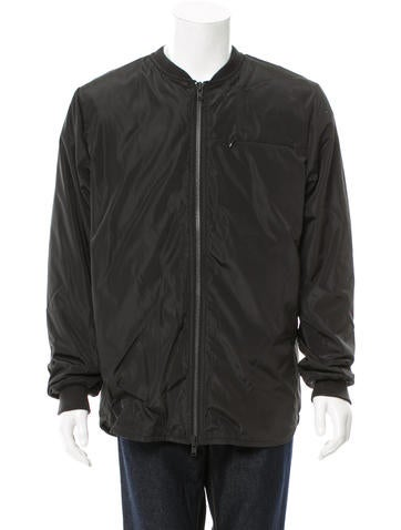Stampd Rib Knit-Trimmed Bomber Jacket w/ Tags None
