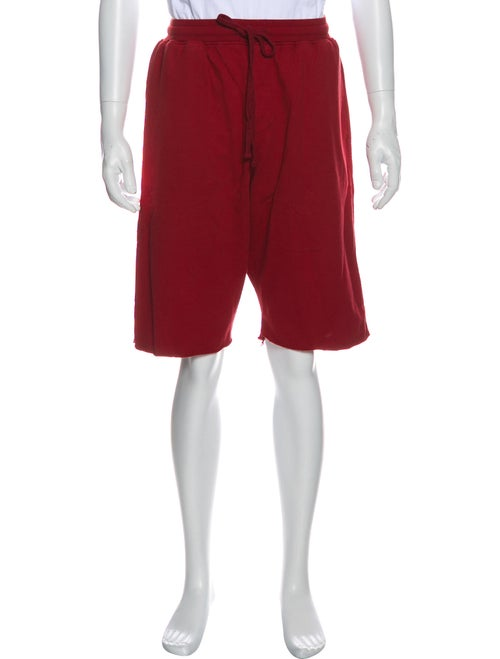 Stampd Woven Sweat Shorts red