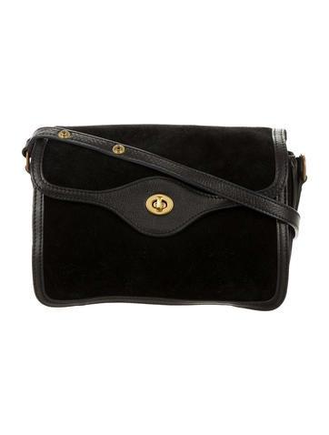 Steven Alan Suede & Leather Shoulder Bag