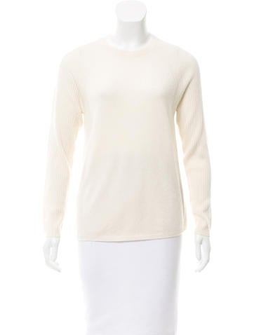 Steven Alan Rib Knit Cashmere Sweater None