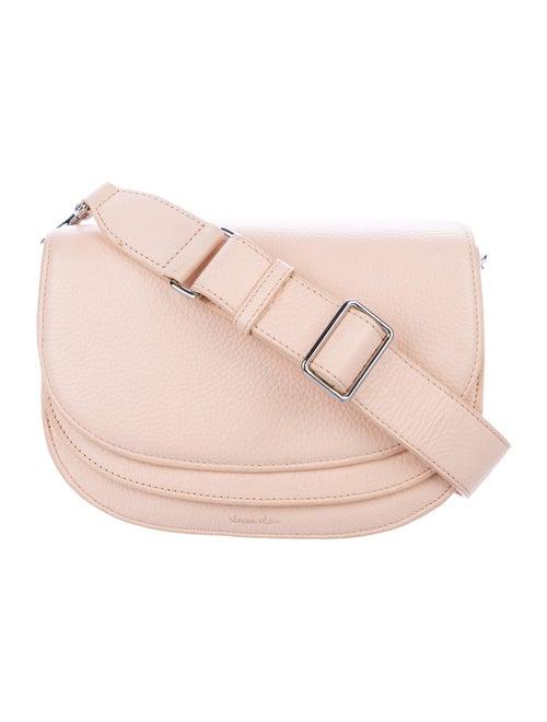 Steven Alan Leather Crossbody Bag Pink