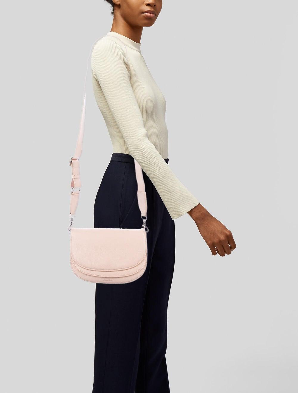 Steven Alan Leather Crossbody Bag Pink - image 2