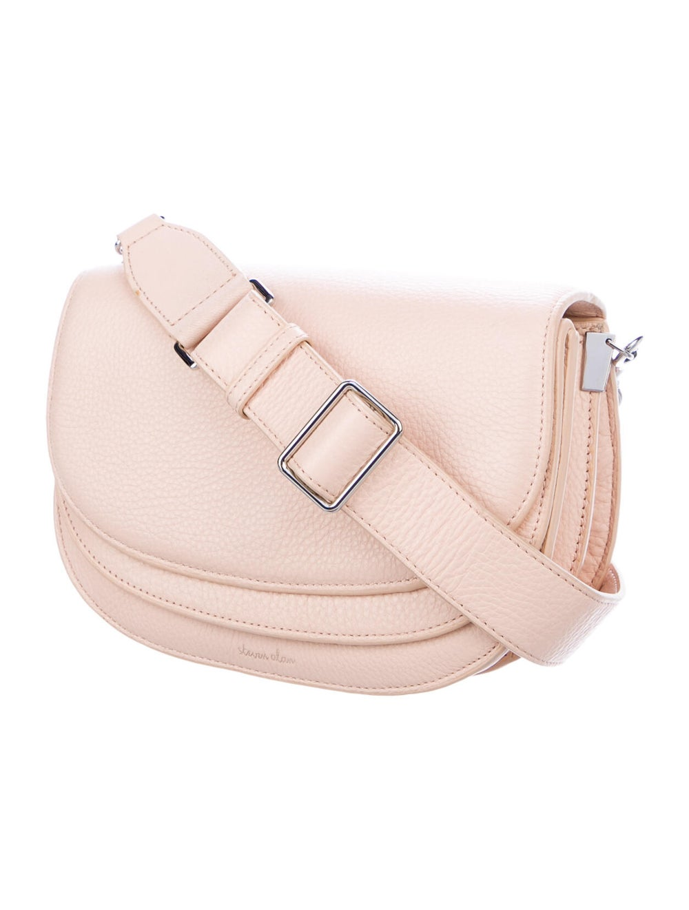 Steven Alan Leather Crossbody Bag Pink - image 3