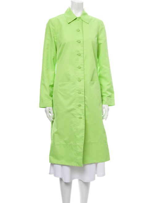 Staud Trench Coat Green
