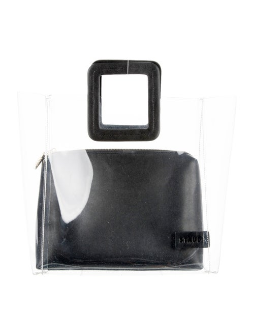Staud PVC Shirley Bag Clear