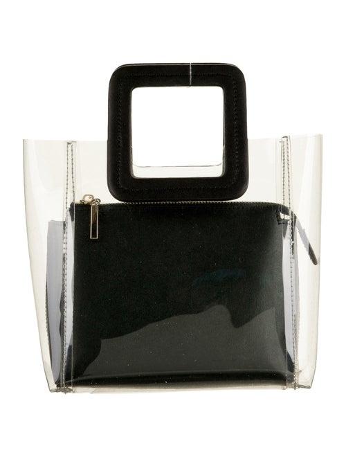 Staud Shirley PVC Handle Bag Clear