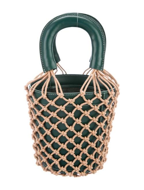Staud Moreau Bucket Bag Green