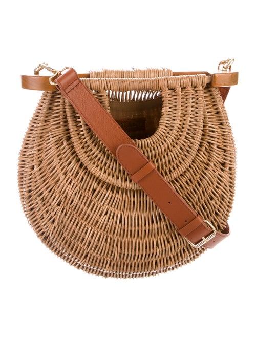 Staud Goldie Basket Bag Brown