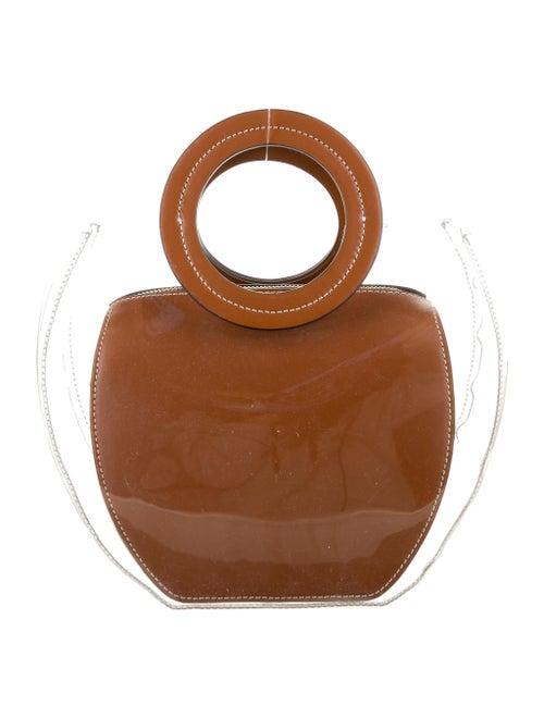 Staud PVC Handle Bag Clear