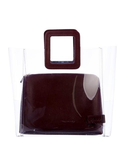 Staud Shirley Handle Bag Clear