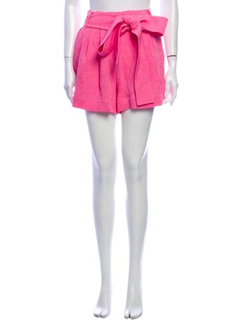 Staud Mini Shorts Pink