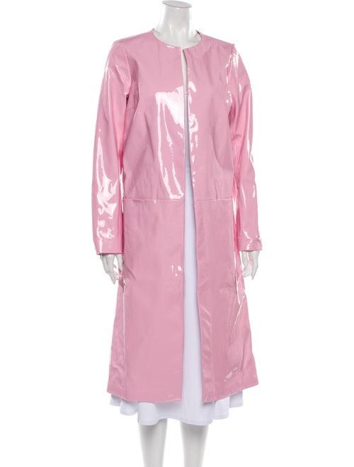 Staud Vegan Leather Coat w/ Tags Pink