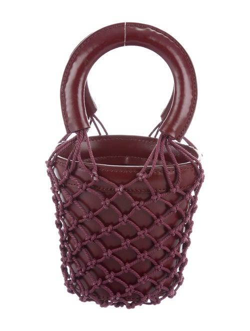 Staud Moreau Bucket Bag Red