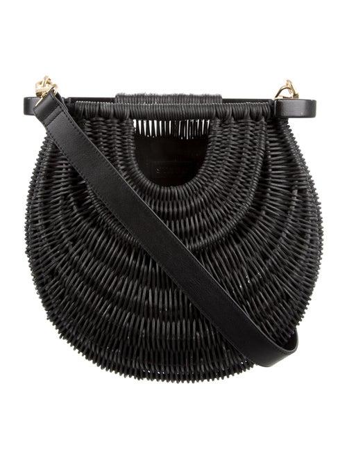 Staud Goldie Basket Bag Black