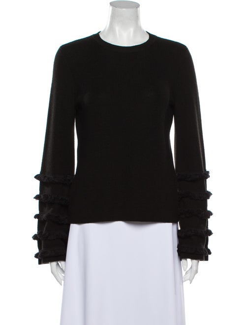 Staud Crew Neck Sweater Black